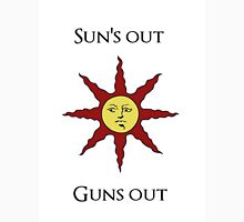 Sun's Out: Guns Out \o/ Women's Tank Top