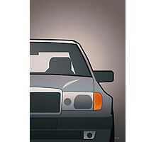 Modern Euro Icons Series Mercedes Benz W124 500E E-Class (Split) Photographic Print