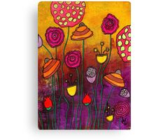 Playing Make Believe Canvas Print