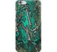 Wood Pile in Green iPhone Case/Skin