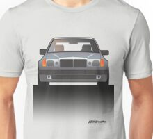 Modern Euro Icons Series Mercedes Benz W124 500E E-Class (Split) Unisex T-Shirt