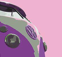 Sky Pink Split by Joe Stallard