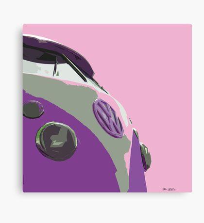 Sky Pink Split Canvas Print