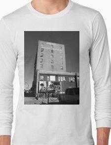 Abilene, Kansas - Hotel Sunflower Long Sleeve T-Shirt
