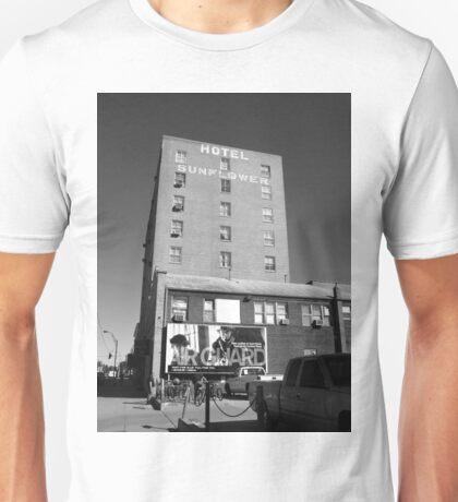 Abilene, Kansas - Hotel Sunflower Unisex T-Shirt