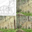 Iguanodon bernissartensis - evolution of an image by A V S TURNER