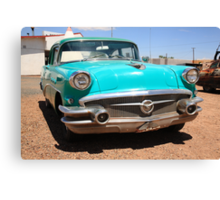 Route 66 Classic Car Canvas Print