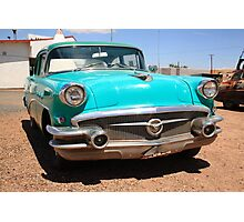 Route 66 Classic Car Photographic Print
