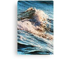 White Cap Canvas Print