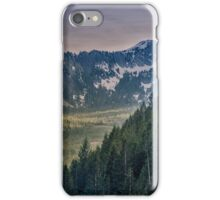 Cascade Mountains iPhone Case/Skin