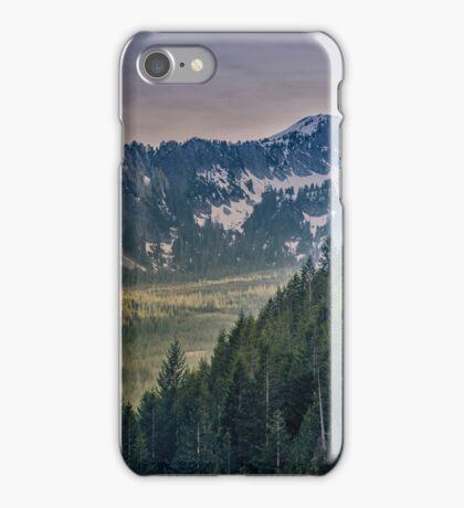 Cascade Mountains iPhone Case/Skin