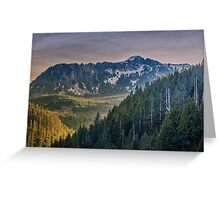 Cascade Mountains Greeting Card