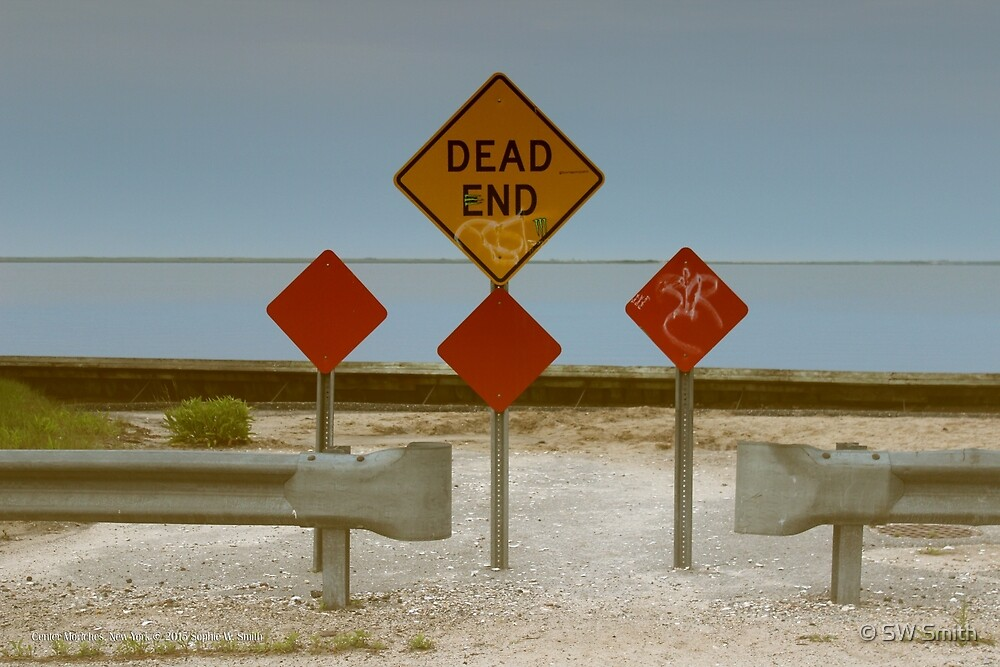 Dead End | Center Moriches, New York by © Sophie W. Smith