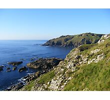 Cornish coast Photographic Print