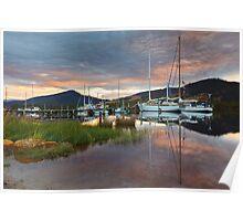 Wooden Boat Centre, Franklin, Tasmania #11 Poster