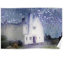 The Hill House by Charles Rennie Mackintosh Poster
