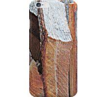 Wood Pile Wood IV iPhone Case/Skin