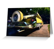 """ Rumble on the Asphalt Jungle "" Greeting Card"