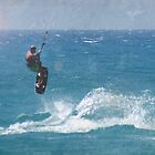 kite surfer by Gregoria  Gregoriou Crowe