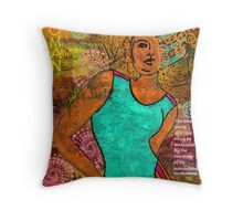 This Artist Speaks Truth Throw Pillow