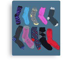 Lost Socks Canvas Print