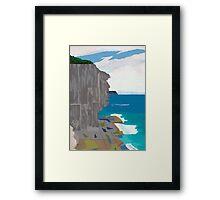 Edge of Oz #1 Framed Print