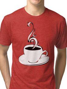 coffee curls Tri-blend T-Shirt
