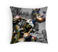 Spinach Addict Throw Pillow