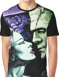 Bride & Frankie Monsters in Love Graphic T-Shirt