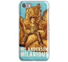 Wil Anderson - Wilarious (portrait) iPhone Case/Skin