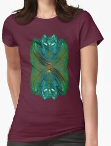 Ethereal Deity Womens Fitted T-Shirt