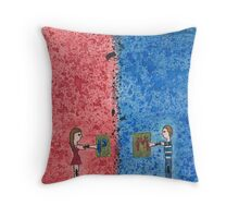 Mary and Paul Paul and Mary 13 Throw Pillow