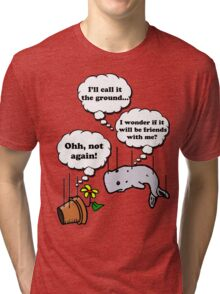 Hitchhiker's...falling Tri-blend T-Shirt