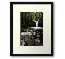 in the Chasm... Framed Print