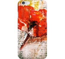 The Poppy Journals...Words in Music iPhone Case/Skin