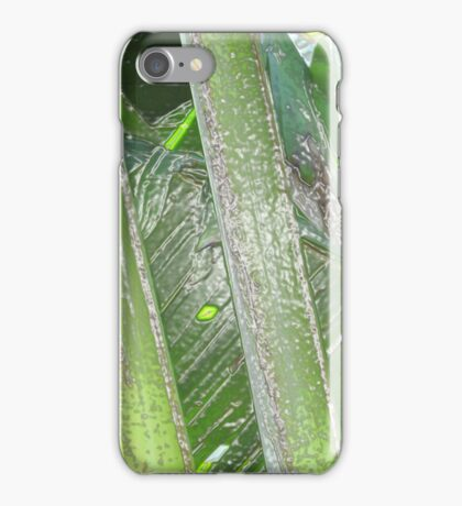 Stalks in Plastic iPhone Case/Skin