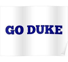 Go Duke Poster
