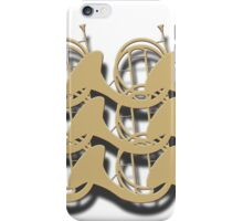 Natural Horns in Rows iPhone Case/Skin