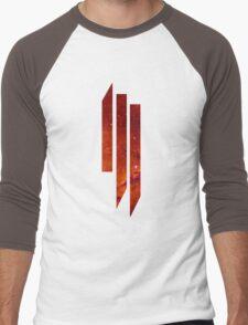 Skrillex galaxy red Men's Baseball ¾ T-Shirt
