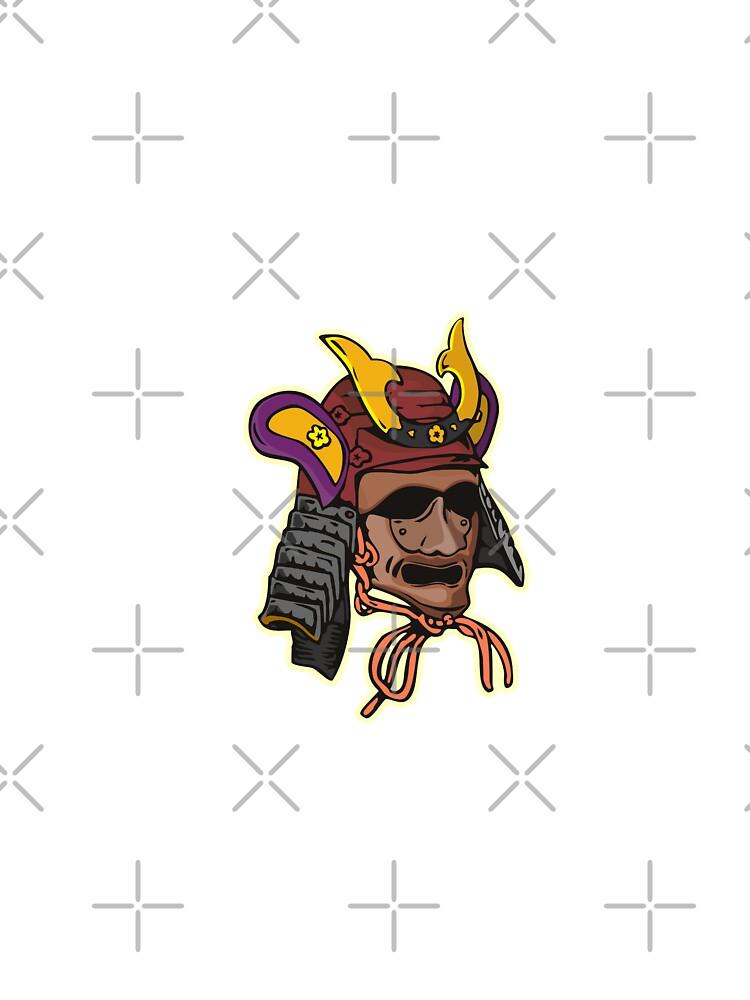 Samurai Mask by patrimonio