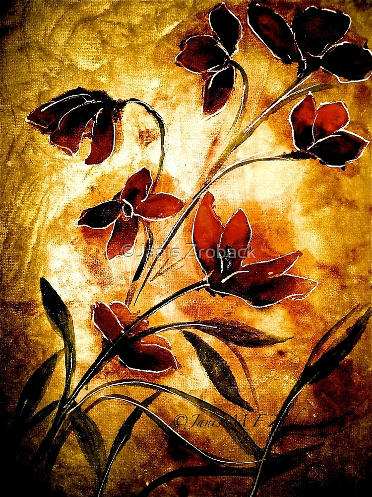 The Poppy Journals...Fabric.... by ©Janis Zroback