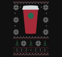 Starbucks Christmas Cup T-Shirt by thugvarys