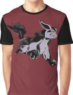 Platinum Mightyena - Skyridge Style Graphic T-Shirt