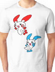 Plusle Minun Unisex T-Shirt