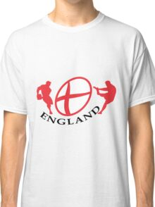 england rugby player kicking ball Classic T-Shirt