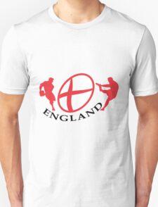 england rugby player kicking ball Unisex T-Shirt