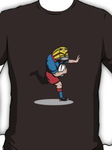 train locomotive rugby player running with ball T-Shirt