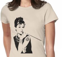 audrey 3 Womens Fitted T-Shirt