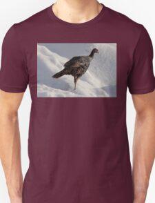 Wild Turkey in the Snow T-Shirt