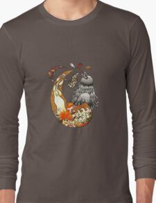 The Fox, the Crow, and the Cookie Long Sleeve T-Shirt